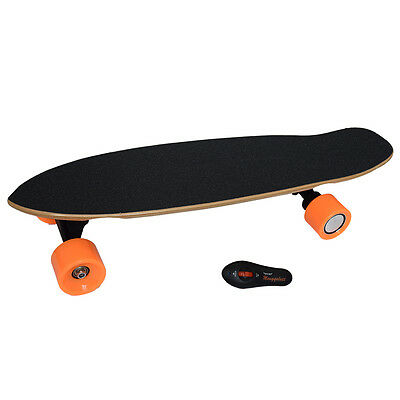 Bluetooth Remote Control 4 Wheels Electric Skateboard Dual Driving Longboard New