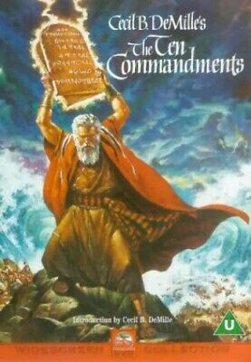 The Ten Commandments [DVD] [1956] - DVD  3EVG The Cheap Fast Free Post
