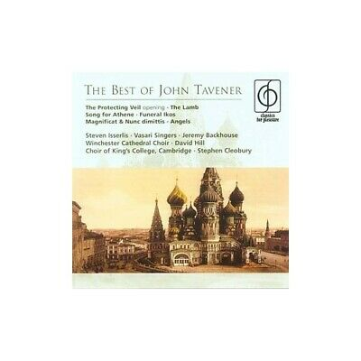 The Best of John Tavener -  CD UGVG The Cheap Fast Free Post The Cheap Fast Free