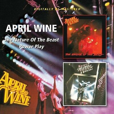 April Wine - Nature of the Beast / Power Play [New CD] Rmst