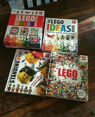 Lego Ultimate Ideas Collection - 3 Books in Slipcase (£46.97) - Fab Condition