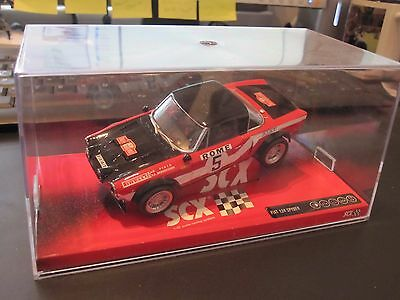 Scalextric / SCX Fiat 124 Spyder #64860 c/w Lights