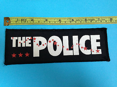 The Police early 80s sew on patch (3)