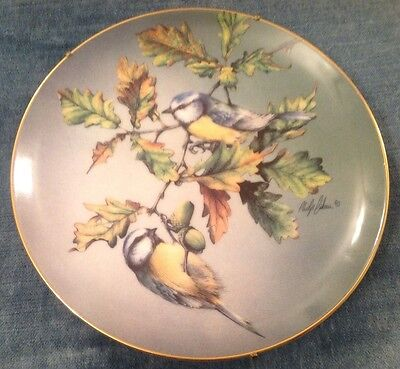 Blue Tit. From The Colourful Birds Of Britain's Heritage Plate Collection.