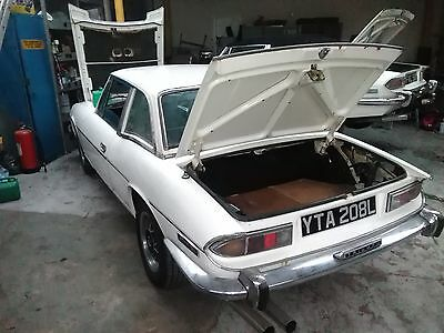 Triumph Stag Mk 1 Auto In White ,greatly Restored, New Mot Rover V8 Looks  Great