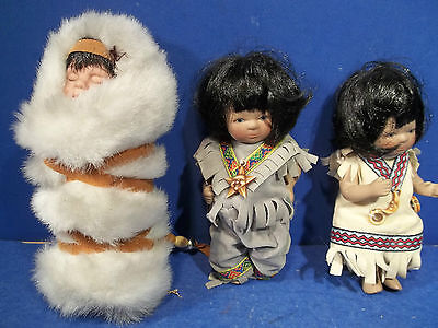 Adorable Lot Of 3 Dolls - Check Them Out!