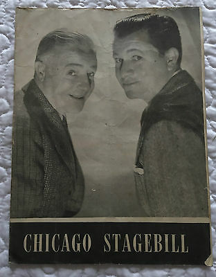 Chicago Stagebill - Stuart Erwin and Skeets Gallagher