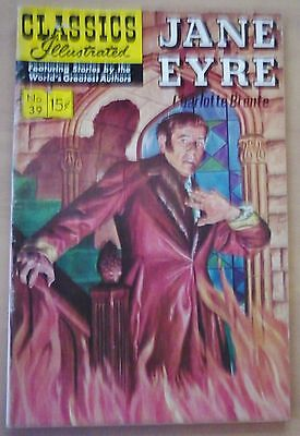 CLASSICS ILLUSTRATED No. 39 USA (HRN 165) JANE EYRE By Charlotte Bronte