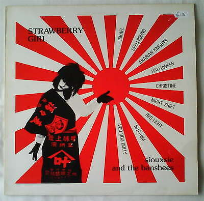 SIOUXSIE AND THE BANSHEES - Strawberry Girl *RARE* Live LP MINT Punk Goth