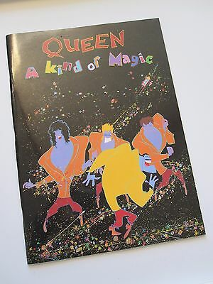 QUEEN  :  A Kind Of Magic  -  1986 Tour Programme  -  Wembley UK Concert