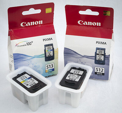 Canon Pixma 512 & 513 Empty Ink Cartridges for refilling