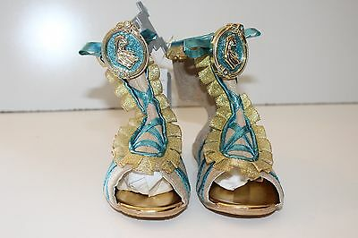 DISNEY'S-POCAHONTAS Costume Shoes for kids-SIZE--US 9/10-BRAND NEW W/TAGS