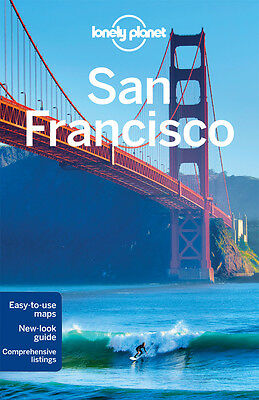 Lonely Planet SAN FRANCISCO 10 (Travel Guide) - BRAND NEW PAPERBACK