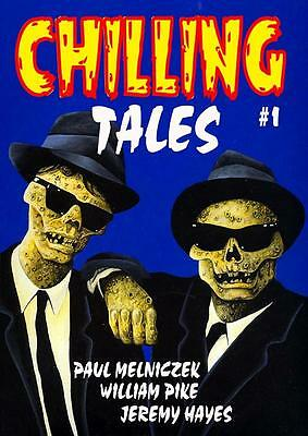 206 CHILLING TALES #1 Rainfall chapbook. Horror stories of the weird and superna