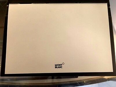 Montblanc Embossed White Signature Paper Writing Pad~New