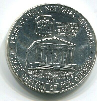 U.s. Mint Silver Medal Centennial Of The Statue Of Liberty 1865-1965 (C1116-E)