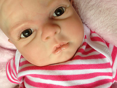 Reborn Baby 'Isabella' was 'Jewel'  by Denise Pratt ~ Now & Forever Babies ~