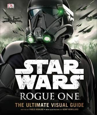 Star Wars Rogue One the Ultimate Visual Guide by Dk Hardcover Book (English)