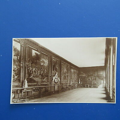 Old Postcard of Hampton Court Palace, The Queen's Gallery.