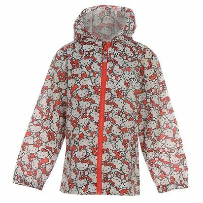 Hello Kitty:rain Mac,all Over Print,3/4Yr,new With Tags