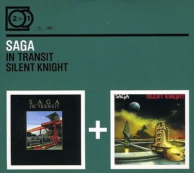Saga - In Transit/Silent Knight [New CD] Germany - Import