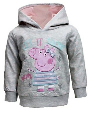 Peppa Pig:*let It Snow* Hoody,12-18M,18-24M,2/3,3/4,4/5,5/6,6/7Yr,new With Tags • EUR 8,74