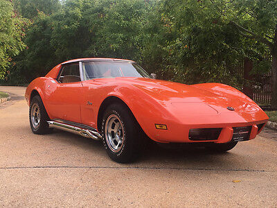 1976 Chevrolet Corvette  tingray free shipping cheap muscle car restored collector classic 350 rare