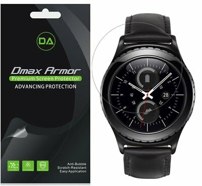 Samsung Gear S2 Classic Full Coverage LIQuidSkin Clear Screen Protector (6-Pack)