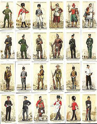 Reprinted 1990,john Player & Sons,uniforms Of The Territorial Army 1939,full Set