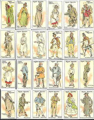 Reprinted 1990,john Player & Sons,characters From Dickins,full Set Of 25 Cards-2