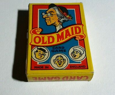 1930/40 Vintage Old Maid Card Game
