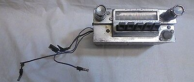 1965-1966 Mustang Radio With Knobs