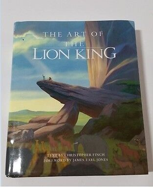 The Art Of The Lion King By Christopher Finch Rare Excellent