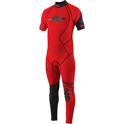 Slippery Fuse 2015 Wetsuit & Jacket Red SM