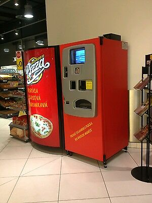 Pizza vending machine oven- fast food catering food for commercial use