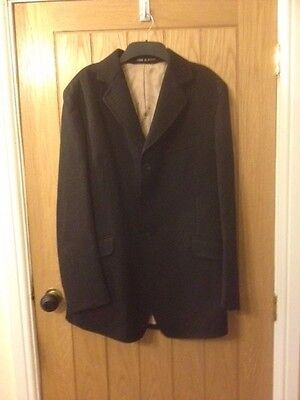 Mens Caldene black hunt jacket 42R