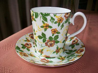 Lovely Royal Albert Bone China Coffee Can/Cup and Saucer Chiltern Series