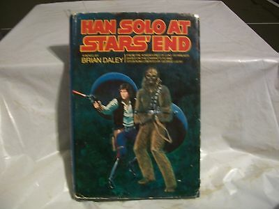 Han Solo at Stars' End a novel by Brian Daley, Hardback with jacket. 1979