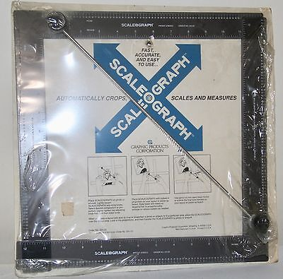 Scaleograph SH-20 Darkroom Cropper 12x12 Inch NEW in Package