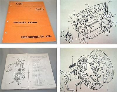TCM DIIPU Nissan Gasoline Engine Parts Manual