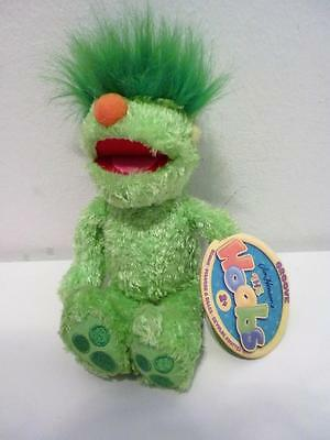 Hensons Muppets Hoobs Mini Beanie Green Tagged Groove Plush Soft Toy Doll 7""