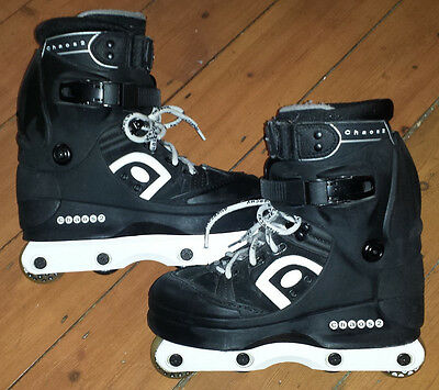 Anarchy Chaos 2 Aggressive Inline Skates UK size 6