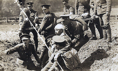 WW1 WWI 5th Bn East Surrey Regiment TA - training & maneouvres - 18 postcards