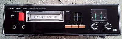 Realistic 8 Track Stereo Player-Recorder, Model # TR-881