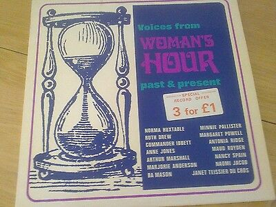 Womans hour Past and present LP