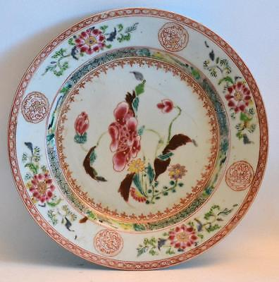 19th / 18th Century Chinese Export Hand Painted Porcelain Plate