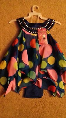 Brand New - Girls Outfit - 2 Yrs - Designer - Han.a.w