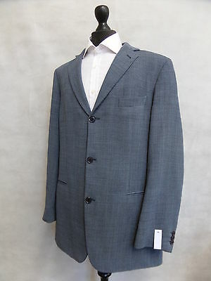 Men's Blue Hugo Boss Mars US Wool Sports Jacket Blazer 42L SS7426