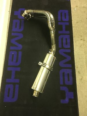 Yamaha R6 2co, 13s Titanium Full Race Exhaust System