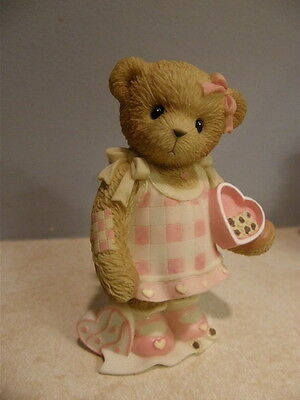 Enesco Cherished Teddies #0000802  Nothing Is Sweeter Than You  New  Free Ship
